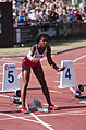 2013 IPC Athletics World Championships - 26072013 - Yunidis Castillo of Cuba preparing for the Women's 100m - T46 second semifinal.jpg