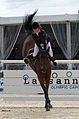 2013 Longines Global Champions - Lausanne - 14-09-2013 - Agathe Vacher et Careena 5.jpg