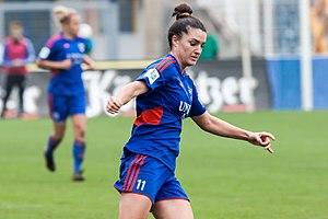 Christina Julien - Playing for FF USV Jena in 2014