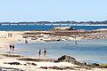 2014 Praia de Vilanova de Arousa coa ponte da Illa ao fondo.jpg
