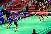 2014 US Open Grand Prix Gold - Women's doubles final match.jpg