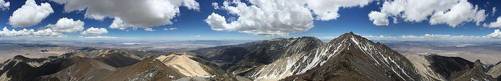 Boundary Peak view