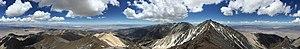 Boundary Peak (Nevada) - Image: 2015 05 03 12 12 00 360 degree panorama from the summit of Boundary Peak, Nevada