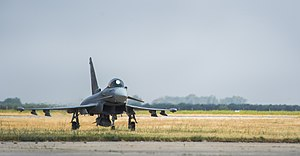 Morón Air Base - Eurofighter Typhoon of Ala 11 at Morón