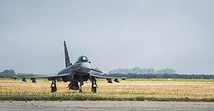 Morón Air Base - Eurofighter Typhoon of Ala 11 at Morón