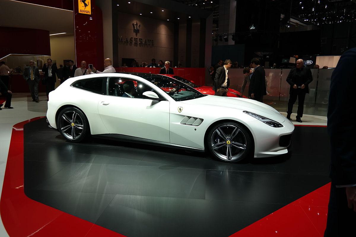 Geneva Motor Show >> Ferrari GTC4Lusso — Wikipédia