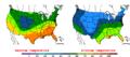 2016-04-30 Color Max-min Temperature Map NOAA.png