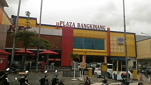 Kampar Regency - a departement store in Bangkinang