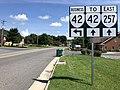 2018-08-31 14 07 09 View east along Virginia State Route 257 (Mason Street) at Walnut Lane in Dayton, Rockingham County, Virginia.jpg