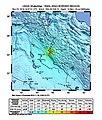 2018-11-25 Sarpol-e Zahab, Iran M6.3 earthquake shakemap (USGS).jpg