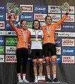 20180925 UCI Road World Championships Innsbruck Women Elite ITT Award Ceremony 850 9441 (cropped).jpg