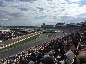 Bank of America Roval 400 - The 2018 Bank of America Roval 400, the first race held on the road course configuration