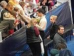 2018 Euros - Jan 19 - Javier Fernández and fan crowds.jpg