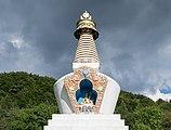 2018 Stupa w Gompie Drophan Ling w Darnkowie 08.jpg