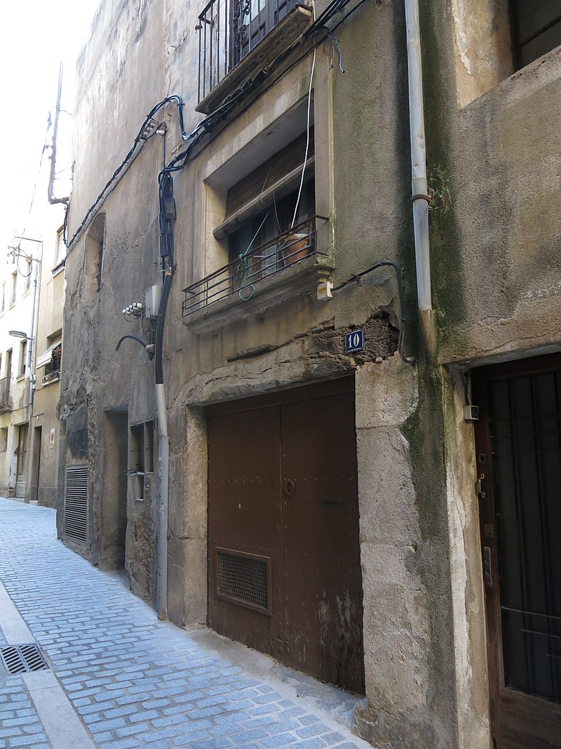 206 Casa al carrer dels Jueus, 10 (Valls).jpg