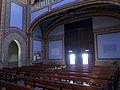 222 Santuari de la Misericòrdia (Canet de Mar), interior de la nau, sota la galeria de l'orgue.JPG