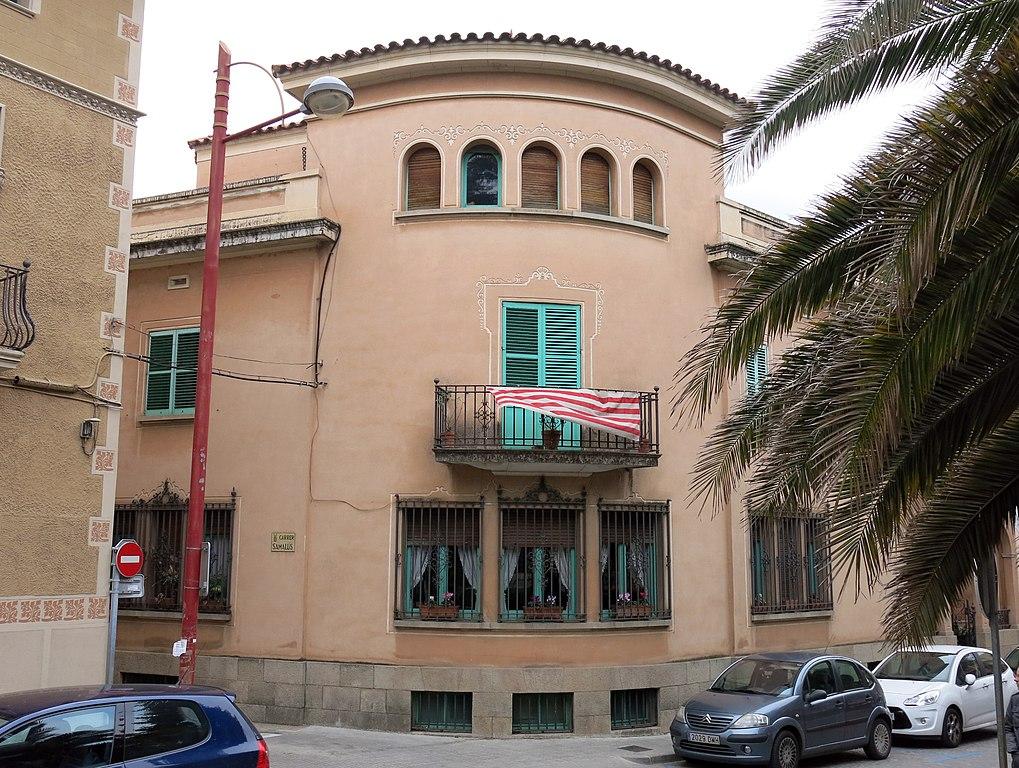 File 233 casa salvador piera pg til lers 22 la garriga jpg wikimedia commons - Casa la garriga ...