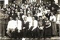 25.05.1936 год Участники 1-го пленума ,в центре Озеров с Орденом Ленина первого типа. Крайний слева -Плотников.За ним Коняев.У многих на.jpg