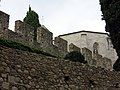 253 Muralla darrere el claustre del Carme (Peralada).JPG