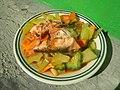 2839Home cooking of ginisang sayote, ampalaya and carrots 45.jpg
