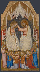 The Coronation of the Virgin: Central Main Tier Panel