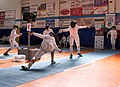 2nd Leonidas Pirgos Fencing Tournament. Counter attack and touch for the fencer Haris Levantides.jpg