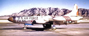 332d Fighter-Interceptor Squadron Lockheed F-94C-1-LO Starfire 51-5515 1954.jpg