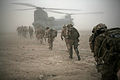 3 Scots and ANA Troops enroute to Upper Sangin Valley MOD 45150707.jpg