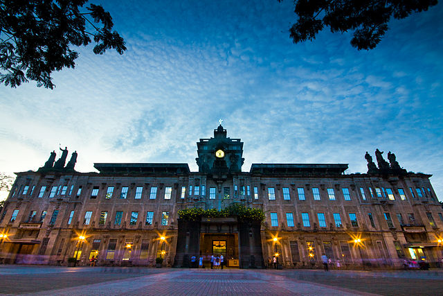 6th place: The Main Building of the University of Santo Tomas by Tristantamayo