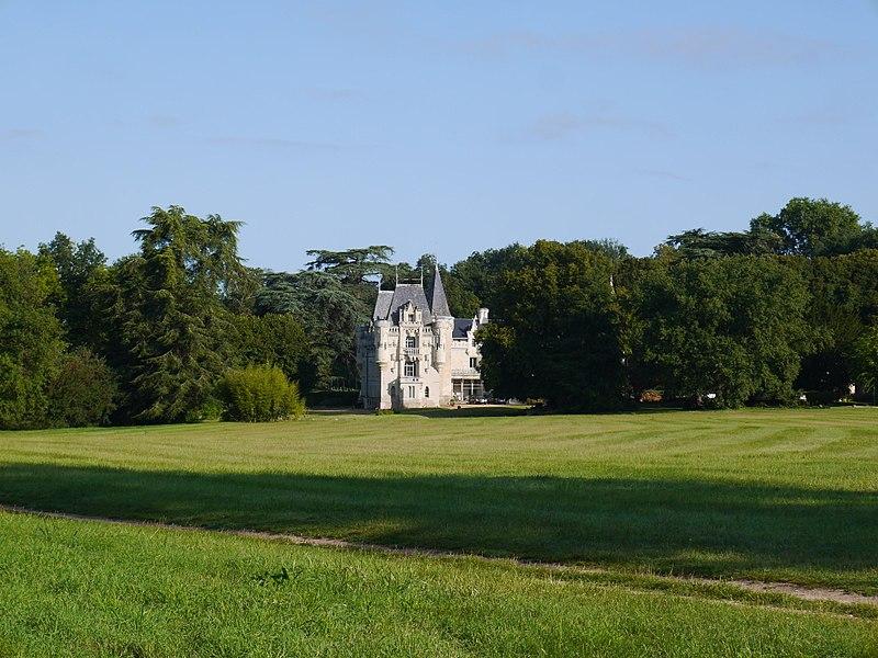 Le château de Salvert.