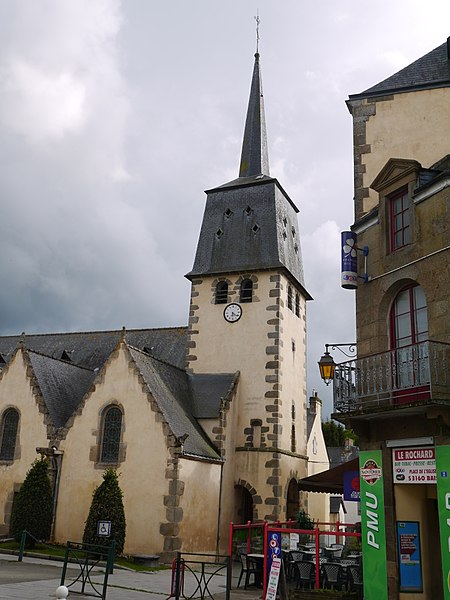 Le clocher de l'église