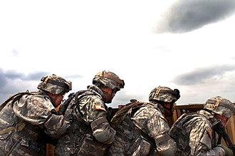 58th Expeditionary Military Intelligence Brigade - 58th soldiers conduct training