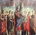 6960 Giovanni Martini - Pala di santa Orsola - Brera.JPG