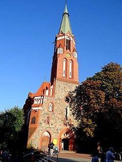 730 Kościół parafialny garnizonowy pw. św. Jerzego Plac Konstytucji 3 Maja 2 Rafał Peplinski.JPG