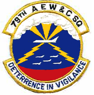79th Air Refueling Squadron - Image: 79 Airborne Early Warning & Control Sq emblem