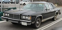 Mercury Grand Marquis, 1982–1987