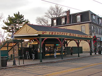 Chestnut Hill West station - Image: 8608 Chestnut Hill SEPTA