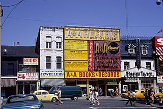 A&A Records former Canadian record store chain