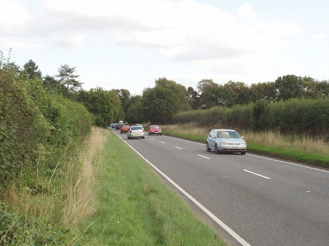 A413 - main road near Wendover - geograph.org.uk - 229852