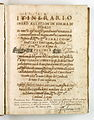 AGAD Itinerariusz legata papieskiego Henryka Gaetano spisany przez Giovanniego Paolo Mucante - 0001.JPG