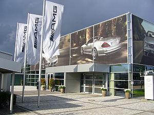 AMG Affalterbach DaimlerChrysler customer serv...