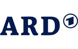 Logo of the German TV broadcaster ARD.