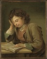 A Boy Reading (Per Krafft d.ä.) - Nationalmuseum - 17988.tif