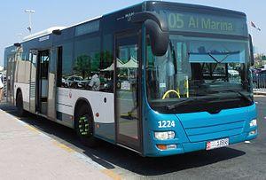 Abu Dhabi Bus service - City Bus