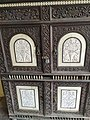 A Close-Up of the Intricate Metal and Marble Work on a Door in City Palace.jpg