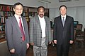 A delegation of Central Committee of Communist Party of China calling on the Union Minister for Law & Justice, Dr. M. Veerappa Moily, in New Delhi on November 11, 2009.jpg