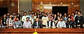 A group of students from Maharashtra calls on the Minister of State for Development of North Eastern Region (IC), Prime Minister's Office, Personnel, Public Grievances & Pensions, Atomic Energy and Space, Dr. Jitendra Singh (1).jpg