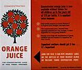 A leaflet for Concentrated Orange Juice Wellcome V0047904.jpg
