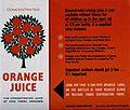 A leaflet for Concentrated Orange Juice Wellcome V0047904.jpg