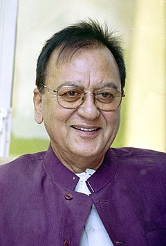 A still of the Union Minister for Youth Affairs and Sports, Shri Sunil Dutt in New Delhi on April 15, 2005.jpg